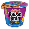 <strong>Kellogg's®</strong><br />Breakfast Cereal, Raisin Bran Crunch, Single-Serve 2.8 oz Cup, 6/Box