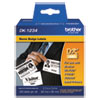 "<strong>Brother</strong><br />Die-Cut Name Badge Labels, 2.3"" x 3.4"", White, 260/Roll"
