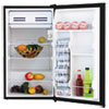Alera® 3.3 Cu. Ft. Refrigerator with Chiller Compartment, Black ALERF333B