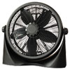 "Alera® 16"" Super-Circulation 3-Speed Tilt Fan, Plastic, Black ALEFAN163"