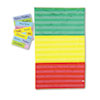<strong>Carson-Dellosa Education</strong><br />Adjustable Tri-Section Pocket Chart with 18 Color Cards, Guide, 33.75 x 55.5