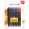 307 Gel Pen, 0.7 mm, Assorted Ink, 8/Pack