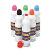 Sponge Paint Set, 6 Assorted Colors, 2.2 oz, 6/Set