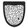 <strong>Boardwalk®</strong><br />Urinal Mat 2.0, Rubber, 17.5 x 20, Black/White, 6/Carton