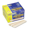 "<strong>Creativity Street®</strong><br />Natural Wood Craft Sticks, Jumbo Size, 6"" x 0.75"", Wood, Natural, 500/Box"