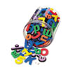 <strong>WonderFoam®</strong><br />Magnetic Alphabet Letters, Assorted Colors. 105/Pack