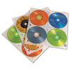 <strong>Case Logic®</strong><br />Two-Sided CD Storage Sleeves for Ring Binder, 25 Sleeves