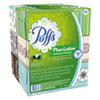 NON-RETURNABLE. PLUS LOTION FACIAL TISSUE, 2-PLY, WHITE, 124 SHEETS/BOX, 6 BOXES/PACK, 4 PACKS/CARTON
