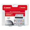 Canon® 1033B005 (PGI-9) Lucia Ink, Assorted, 10/PK CNM1033B005