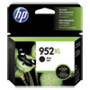 HP 952XL, (F6U19AN) High Yield Black Original Ink Cartridge