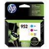 <strong>HP</strong><br />HP 952, (N9K27AN) 3-Pack Cyan/Magenta/Yellow Original Ink Cartridges