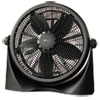 "<strong>Alera®</strong><br />16"" Super-Circulation 3-Speed Tilt Fan, Plastic, Black"
