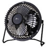 "Alera® 4"" Mini Personal Cooling Fan, Steel, Black - ALEFAN041"