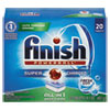 FINISH® Powerball Dishwasher Tabs, Fresh Scent, 20/Box - 77050