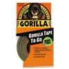 "Gorilla Tape, Extra-Thick, All-Weather Duct Tape, 1"" x 10yds, 1 1/2"" Core, Black"