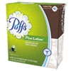 "Plus Lotion Facial Tissue, White, 1-Ply, 8 1/5"" x 8 2/5"", 56/Box, 24/Carton"