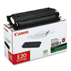 E20 (E20) Toner, 2000 Page-Yield, Black
