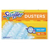 <strong>Swiffer®</strong><br />Refill Dusters, Dust Lock Fiber, Light Blue, Unscented, 10/Box