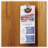 Avery® Door Hanger with Tear-Away Cards