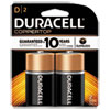 CopperTop Alkaline Batteries, D, 2/PK
