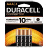 CopperTop Alkaline Batteries, AAA, 4/PK