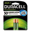 Rechargeable NiMH Batteries, AAA, 2/PK
