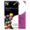 <strong>Neenah® Bright White</strong><br />Bright White Card Stock, 96 Bright, 65lb, 8.5 x 11, 250/Pack