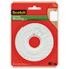 "Scotch® Permanent High-Density Foam Mounting Tape, 1"" Wide x 125"" Long - 112L"
