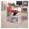 Dimensions Chair Mat For Carpet, 45 X 53, Clear