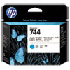 <strong>HP</strong><br />HP 744, (F9J86A) Photo Black/Cyan DesignJet Printhead