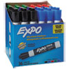 <strong>EXPO®</strong><br />Low-Odor Dry-Erase Marker Value Pack, Broad Chisel Tip, Assorted Colors, 36/Box
