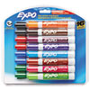 Low-Odor Dry-Erase Marker, Broad Chisel Tip, Assorted Colors, 16/Set