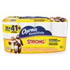 Charmin® Essentials Strong Bathroom Tissue, 1-Ply, 4 x 3.92, 300/Roll, 16 Roll/Pack PGC96895