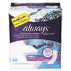 Always® Discreet Sensitive Bladder Protection Pads, Moderate, 66/Pack, 3 Pack/Carton - 92726
