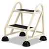 "Cramer® Two-Step Stop-Step Aluminum Ladder, 23"" High, Beige CRA102019"