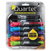 <strong>Quartet®</strong><br />EnduraGlide Dry Erase Marker, Broad Chisel Tip, Assorted Colors, 12/Set