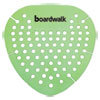 <strong>Boardwalk®</strong><br />Gem Urinal Screen, Lasts 30 Days, Green, Herbal Mint Fragrance, 12/Box