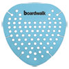 <strong>Boardwalk®</strong><br />Gem Urinal Screen, Lasts 30 Days, Blue, Cotton Blossom Fragrance, 12/Box