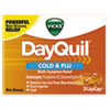 DayQuil Cold and Flu LiquiCaps, 24/Box