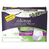 Always® Discreet Incontinence Underwear, Small/Medium, Maximum Absorbency,19/Pack - 92735PK