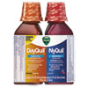 Vicks® DayQuil/NyQuil Cold & Flu Liquid Combo Pack, 12 oz Day, 12 oz Night - 01479PK
