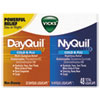 Vicks® DayQuil/NyQuil Cold & Flu LiquiCaps Combo Pack, 32 Day/16 Night - 01452BX