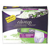Always® Discreet Incontinence Underwear, Large, Maximum Absorbency, 17/Pack - 92736PK