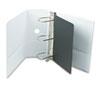 "Cardinal® Performer ClearVue Slant-D Ring Binder, 5"" Cap, 11 x 8 1/2, White CRD17950"