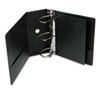 "Cardinal® Performer ClearVue Slant-D Ring Binder, 5"" Cap, 11 x 8 1/2, Black CRD17951"