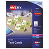 Small Tent Card, Ivory, 2 X 3 1/2, 4 Cards/sheet, 160/box