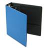 "Cardinal® Premier Easy Open Locking Round Ring Binder, 3"" Cap, 11 x 8 1/2, Medium Blue CRD18847"