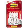<strong>Command&#8482;</strong><br />General Purpose Wire Hooks Multi-Pack, Small, 0.5 lb Cap, White, 9 Hooks and 12 Strips/Pack