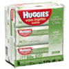 Huggies® Natural Care Baby Wipes, Unscented, White, 56/Pack, 3-Pack/Box - 43403PK