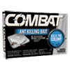 Combat® Combat Ant Killing System, Child-Resistant, Kills Queen & Colony, 6/Box - 45901